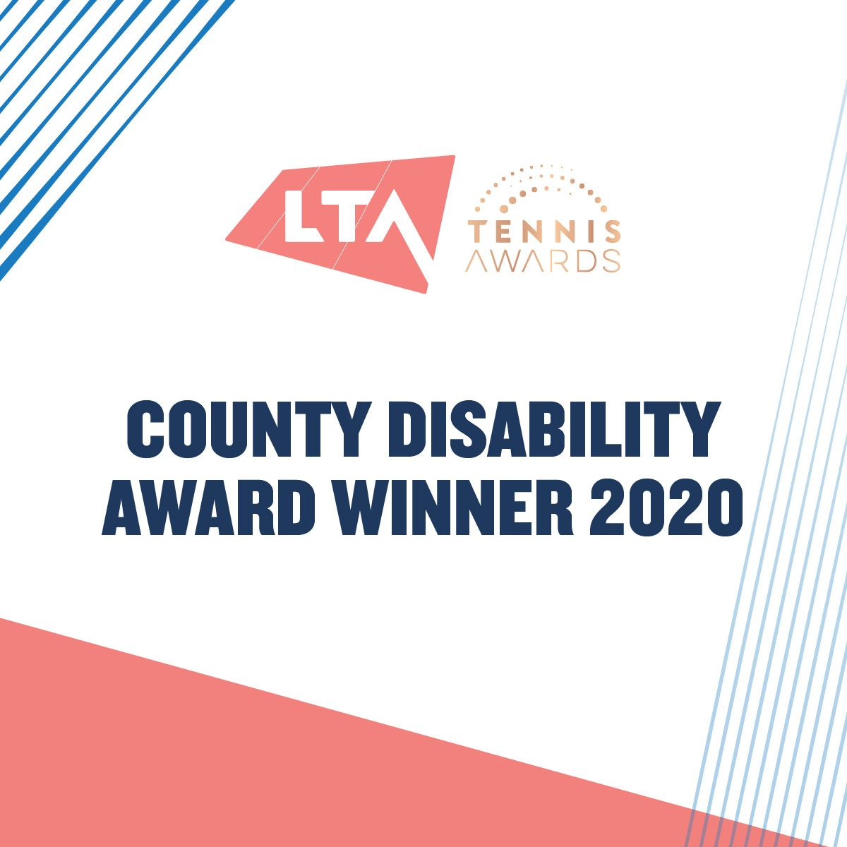 BTA Winners Social Media County Disability Award winner 1200x1200